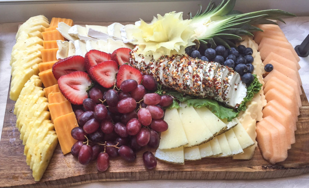 Fruit & Cheese Platter 3