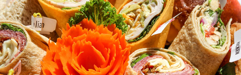 Catering Wraps and Sandwiches