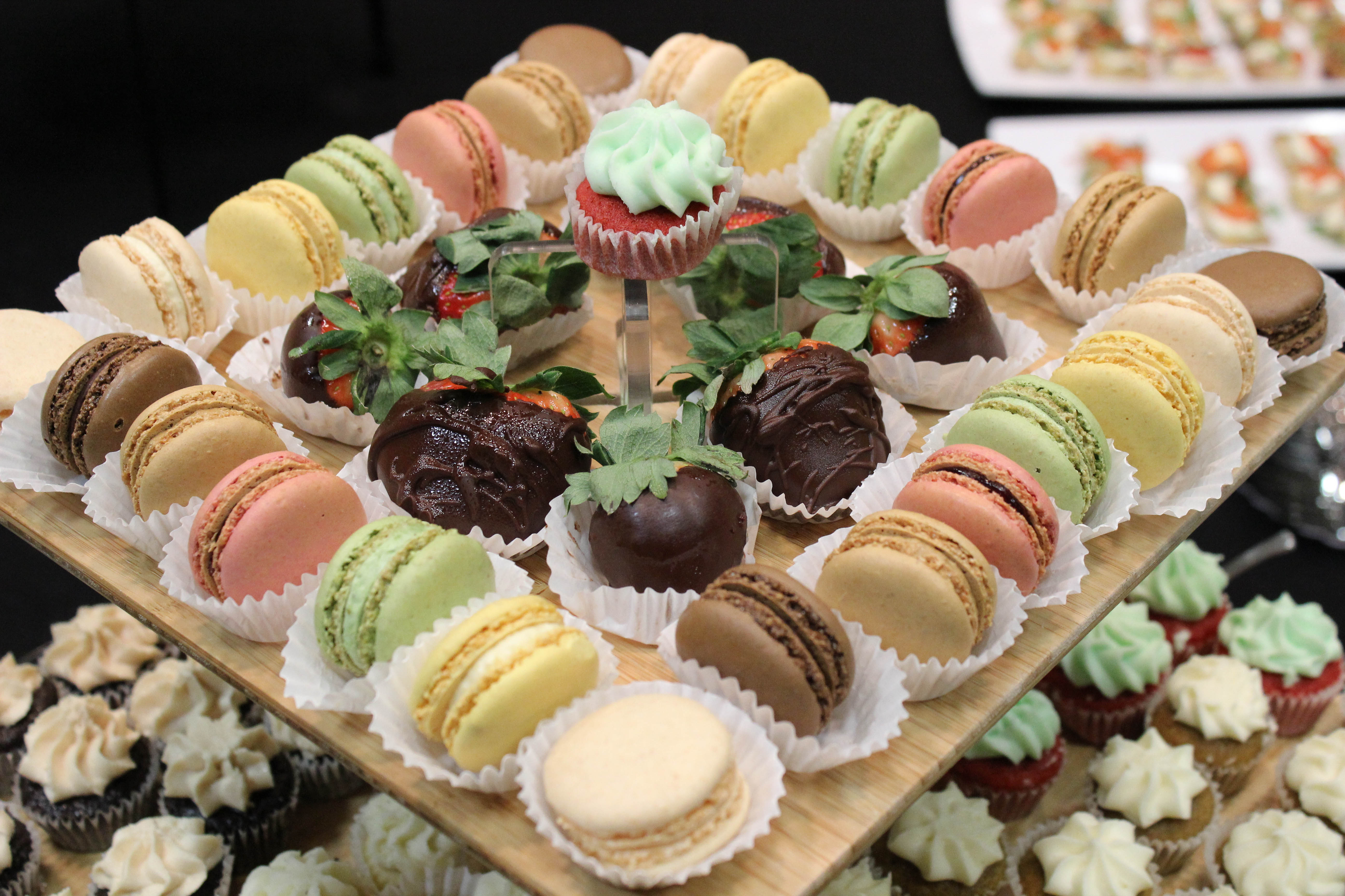 Macaroons by SilverSpoon Caterers