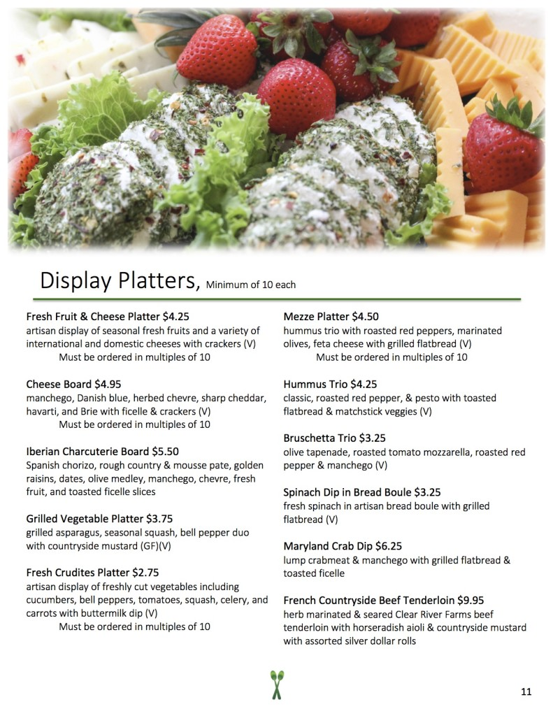 New Menu 2016 - Display