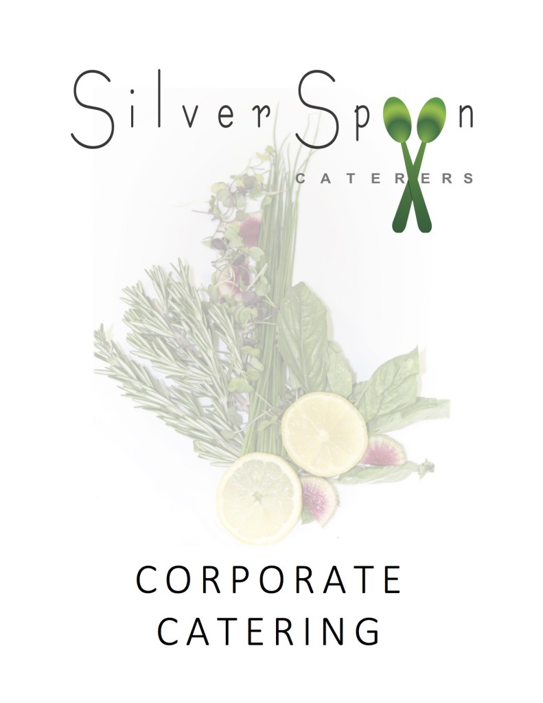 Silver Spoon Caterers New Menu 2016 - CP