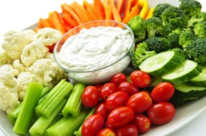 organic vegetarian catering options